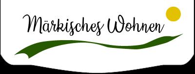 """Das Logo vom Märkisches-Wohnen.de """"Zu Hause sein"""""""